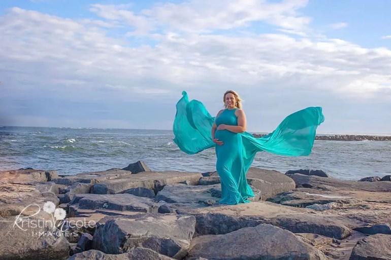 Beach Maternity Photography