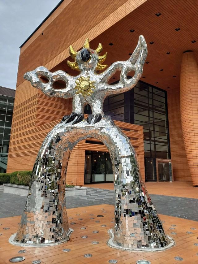 firebird sculpture mint museum charlotte