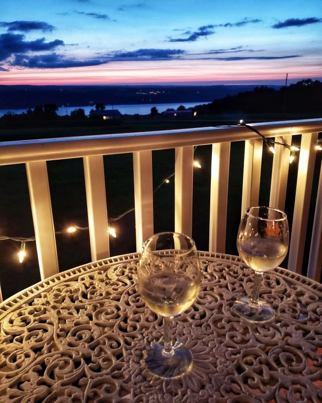 View overlooking Seneca Lake