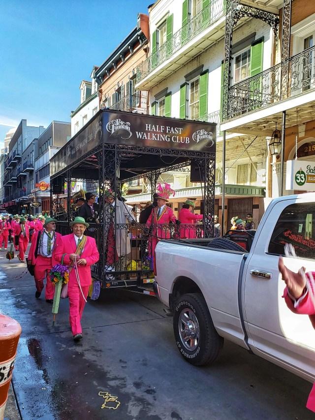 Bourbon Street Parade, New Orleans