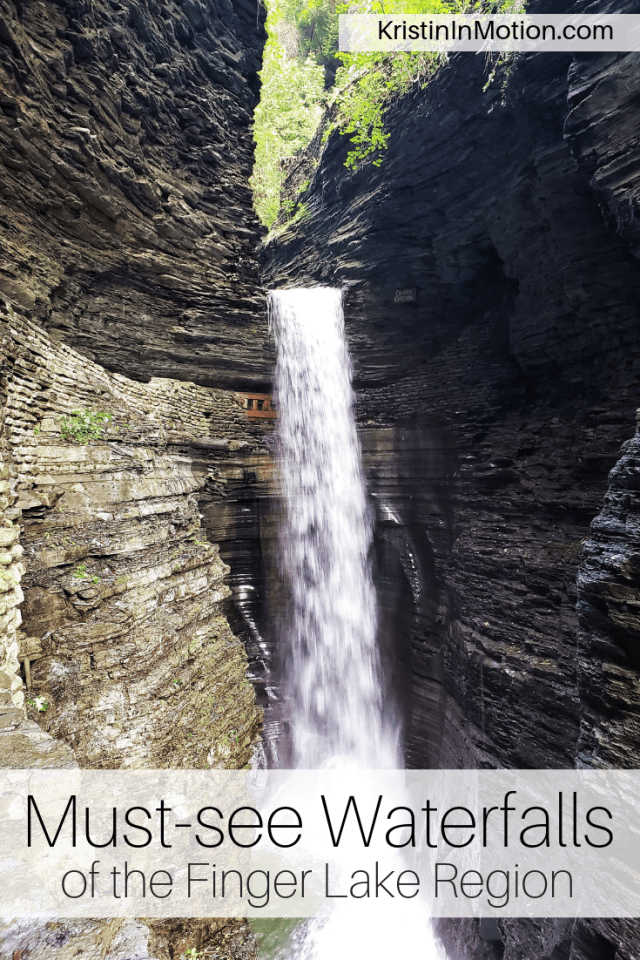 The Finger Lakes are filled with scenic destinations, but these five waterfalls are absolute must-sees during your next trip to the area. #fingerlakes #wineregion #upstatenewyork #waterfalls