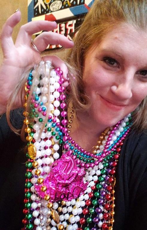 Mardi Gras Beads, New Orleans