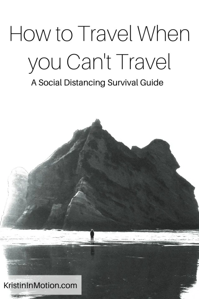 Social distancing will be a hard time for a lot of people, especially ones who had to cancel trips! So here are ways to travel without actually traveling!