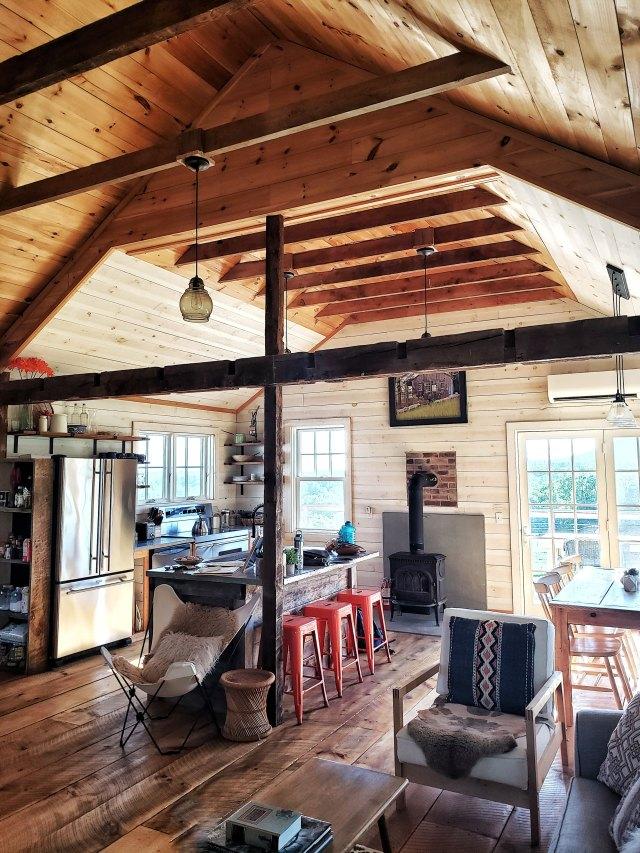 Airbnb, shaftsbury, vermont