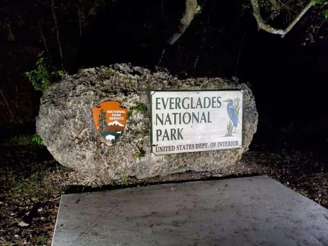 Everglades National Park Entrance