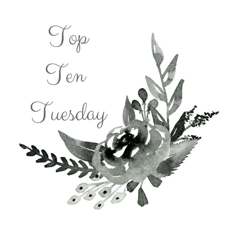 Top Ten Tuesday- Best Books of The Year So Far!