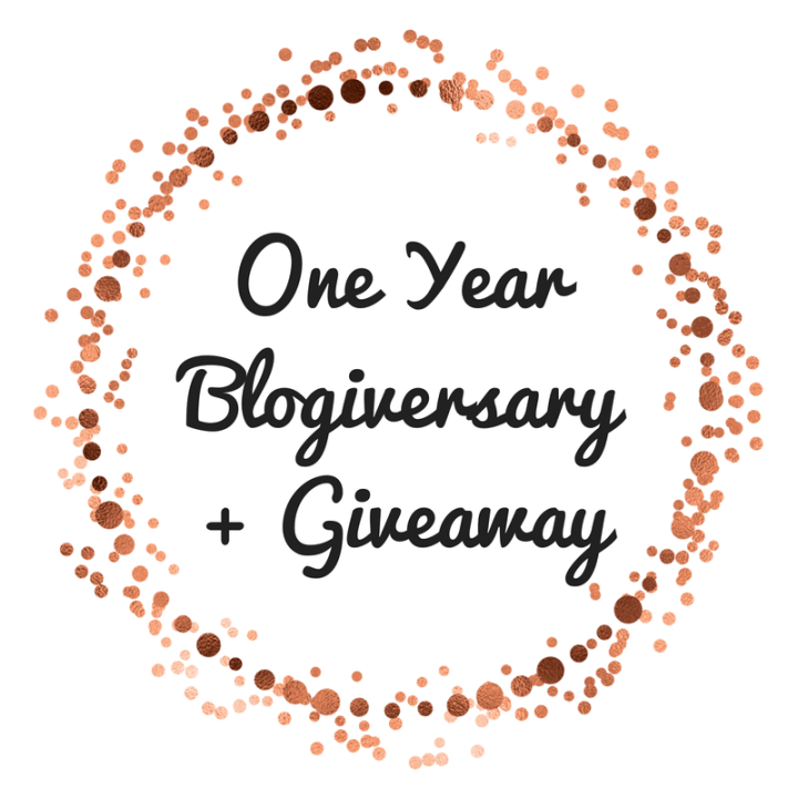My One Year Blogiversary + Giveaway!!