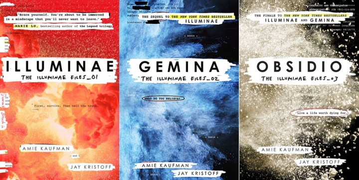 Holed Up In A Book: The Illuminae Files Series by Amie Kaufman ...