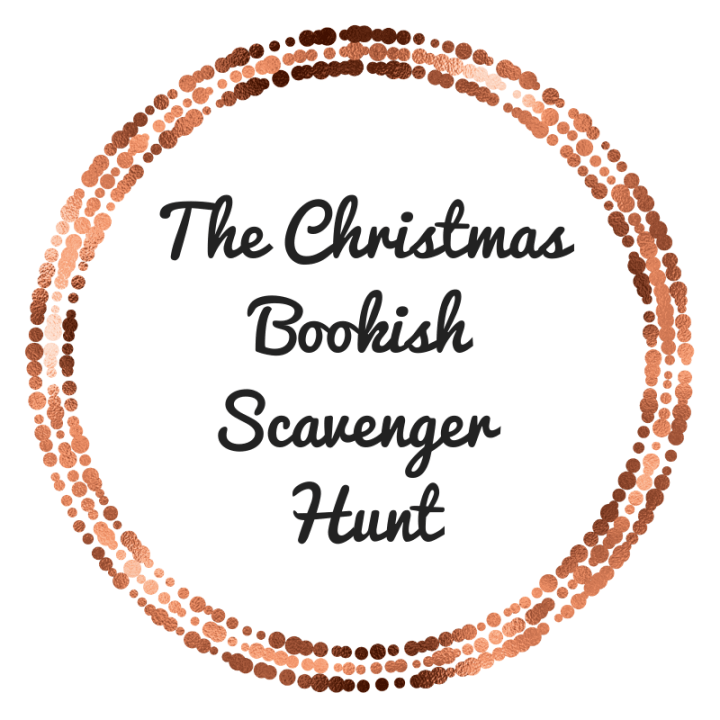 The Christmas Bookshelf Scavenger Hunt Tag