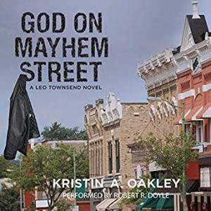 God on Mayhem Street audiobook cover