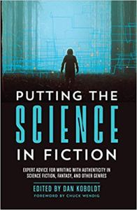 """The cover of """"Putting the Science in Fiction"""""""