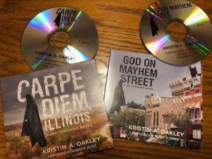 Carpe Diem, Illinois and God on Mayhem Street Audiobooks