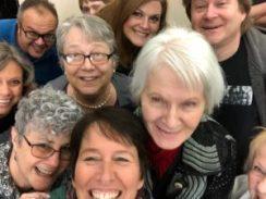 Selfie of In Print members