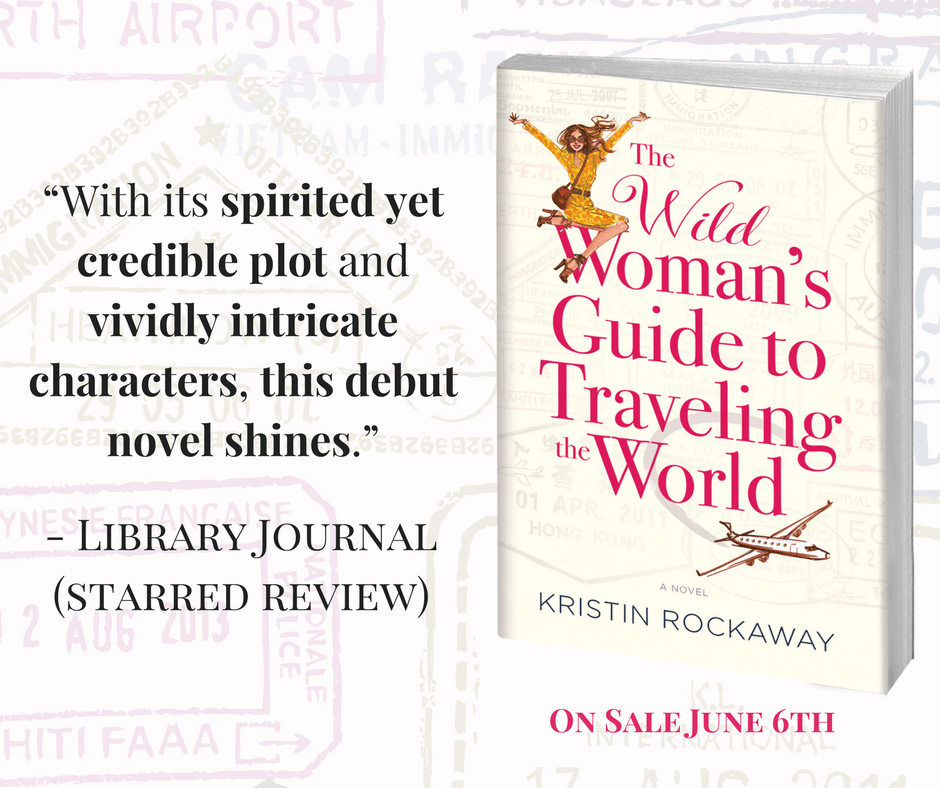 THE WILD WOMAN'S GUIDE TO TRAVELING THE WORLD received a starred review from Library Journal!
