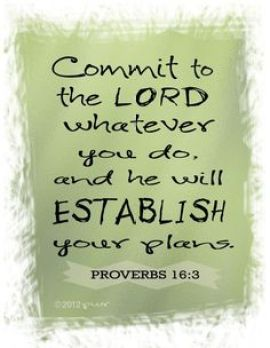 comit to the lord