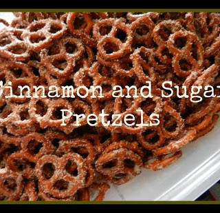 Tasty Cinnamon and Sugar Pretzels