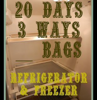 20 Days, 3 Ways, __ Bags: Refrigerator and Freezer