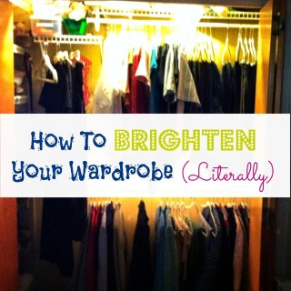 How To Brighten Your Wardrobe (Literally)