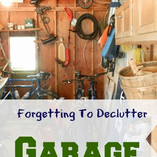 Forgetting to Declutter: Garage