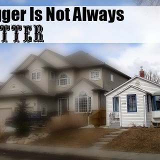 Simply Living A Bigger-Is Not-Always-Better Life