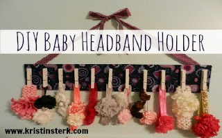 DIY Baby Headband Holder