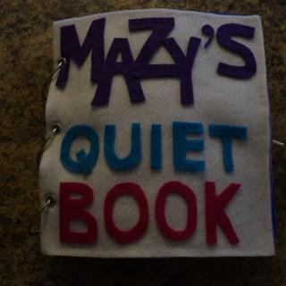 Mazy's Quiet Book