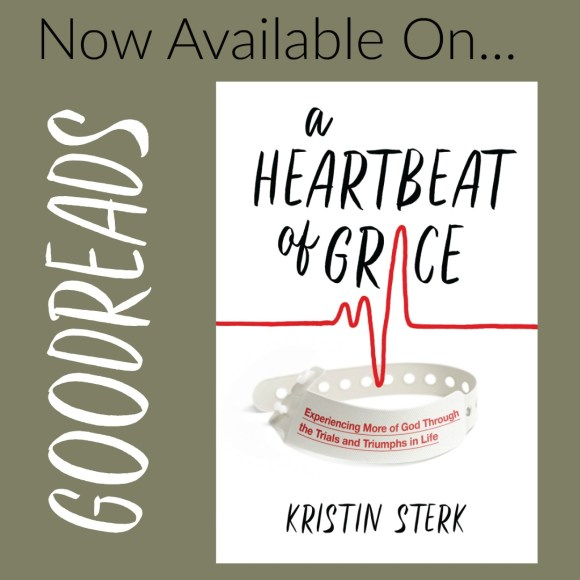 A Heartbeat of Grace Is Now On Goodreads!