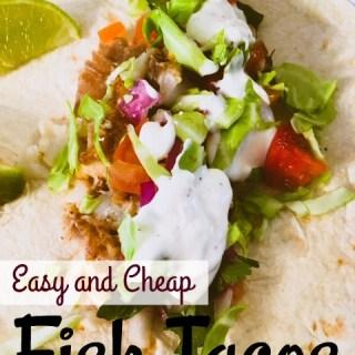 Mediterranean Lifestyle – Fish Tacos