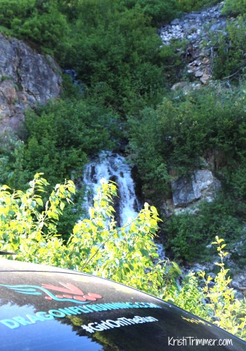 5-31-14 1st Waterfall with car