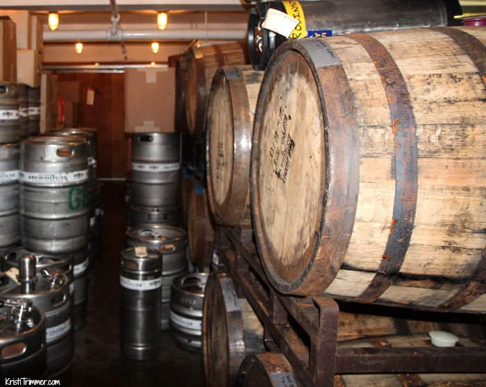 Glacier Brewhouse Barrel Room KT