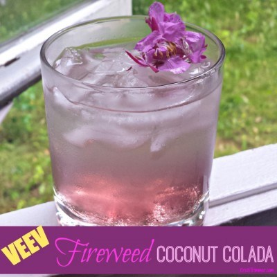 Recipe: Veev Fireweed Coconut Colada