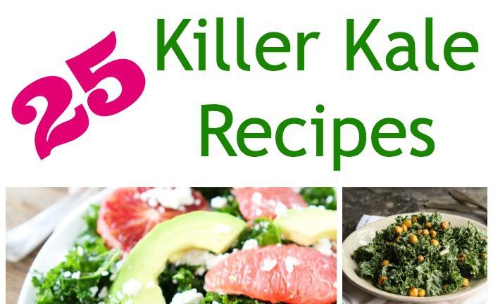 25 Killer Kale Recipes #kalerecipes #ketorecipes #kale