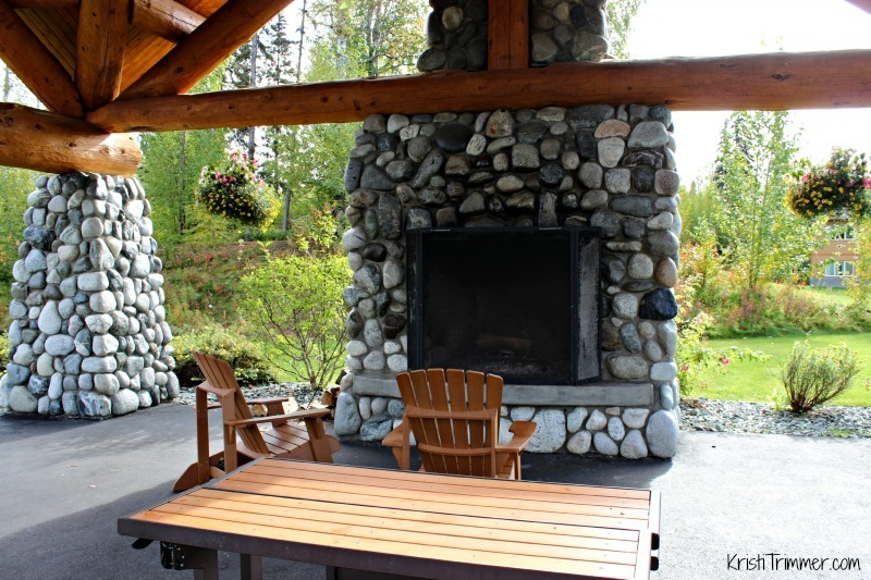 Talkeetna Lodge - Fireplace