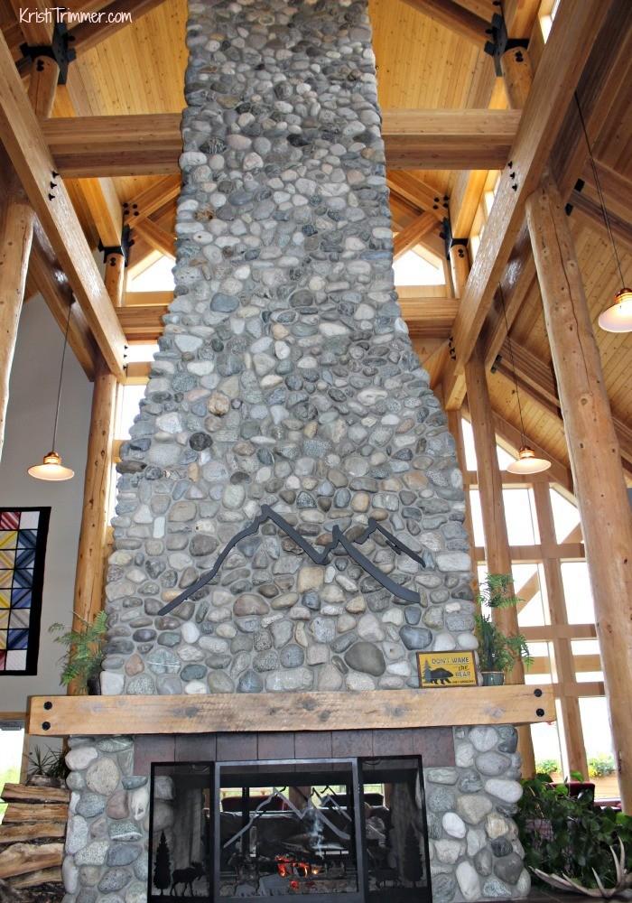 Talkeetna Lodge Fireplace