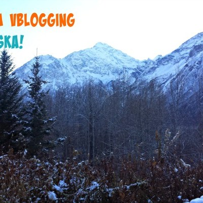 Finally. I'm Vblogging about Alaska