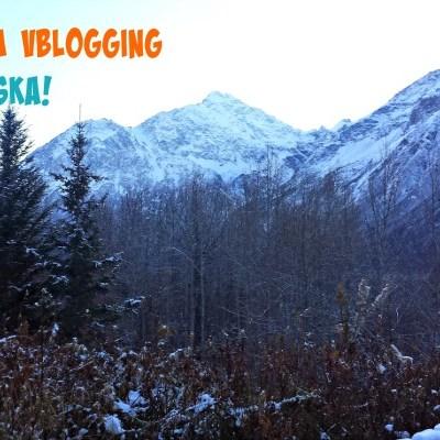 Finally. I'm Vblogging about Alaska