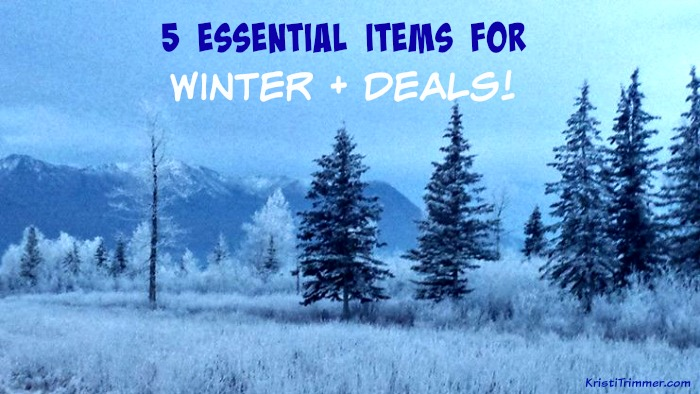 5 Essential Items for Winter