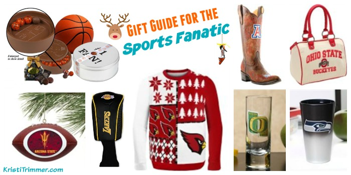 Gift Guide for the Sports Fanatic Feature