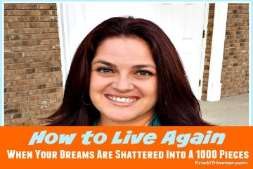 How to Live Again Sidebar