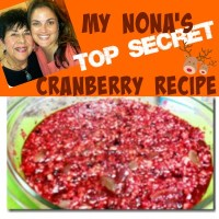 My Nona's Top Secret Cranberry Recipe