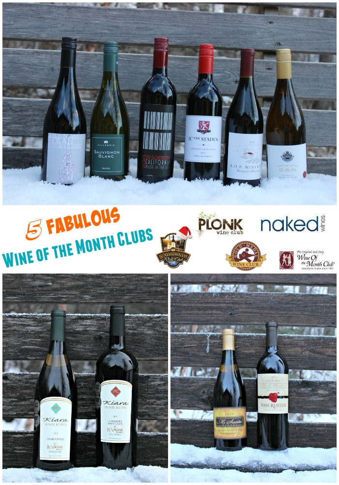 5 Fabulous Wine of the Month Clubs vertical