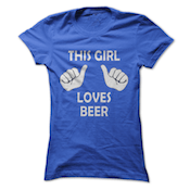 This Girl loves beer