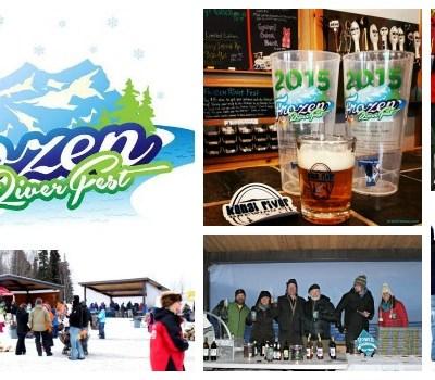 Frozen River Fest in Alaska