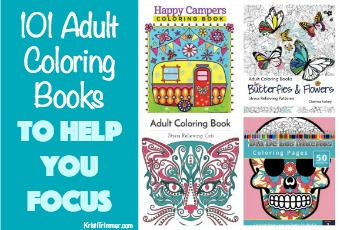 101 Adult Coloring Books To Help You Focus