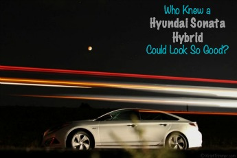 Who Knew a Hyundai Sonata Hybrid Could Look So Good?