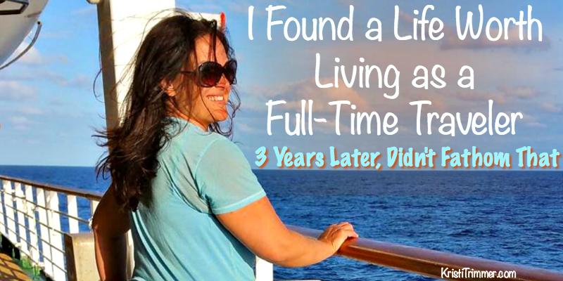 full time traveling
