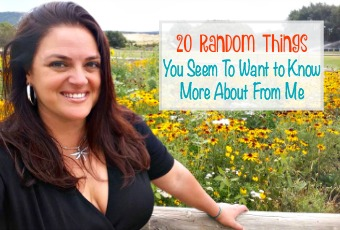 20 Random Things You Seem To Want to Know More About From Me