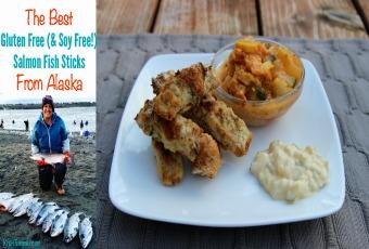 The Best Gluten Free (& Soy Free) Salmon Fish Sticks From Alaska