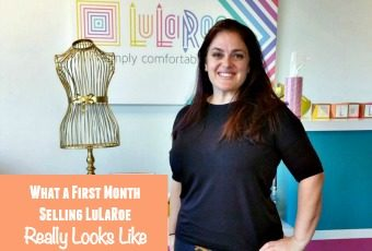 What a First Month Selling LuLaRoe Really Looks Like