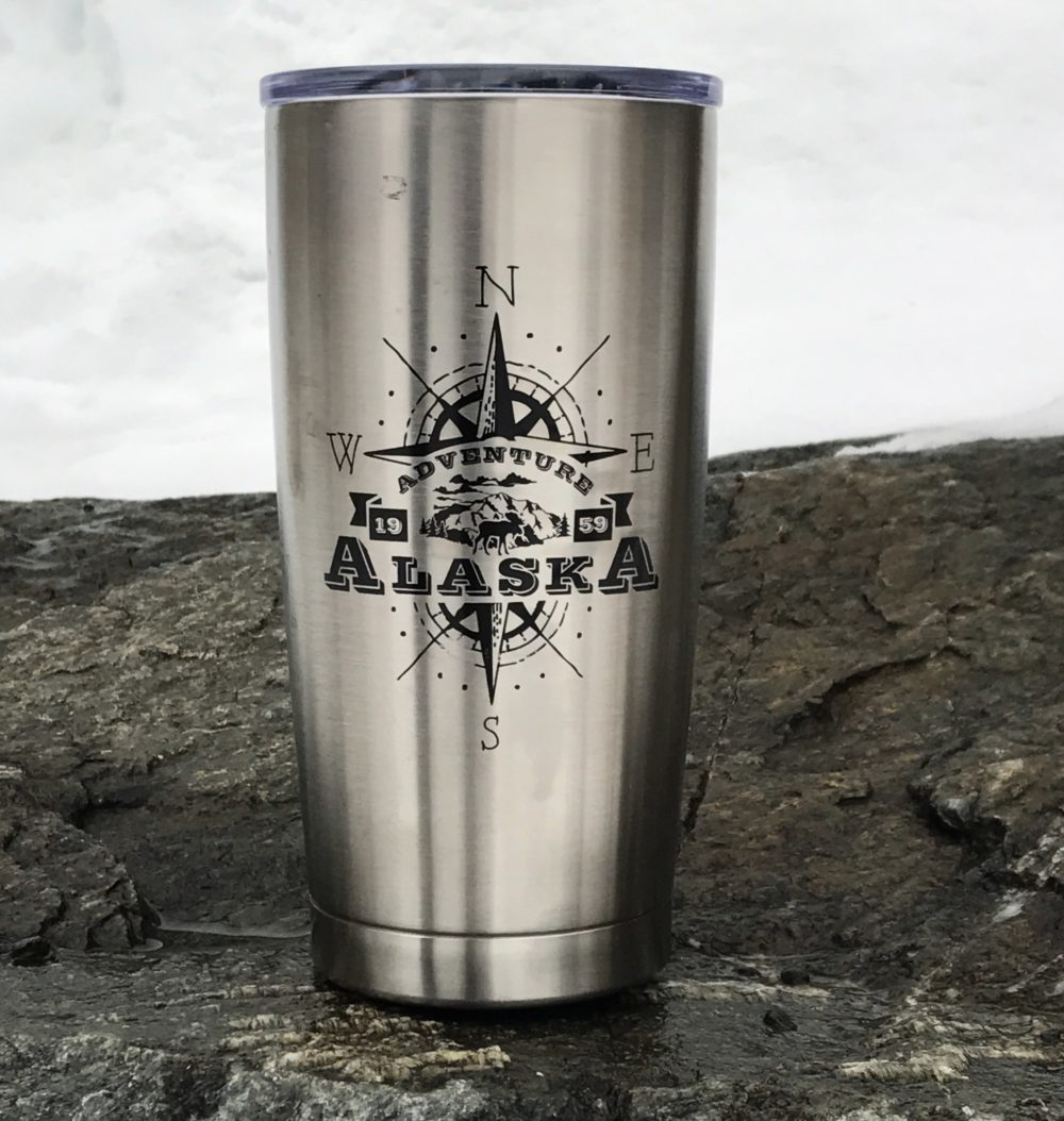 Alaska Adventure Insulated Tumbler